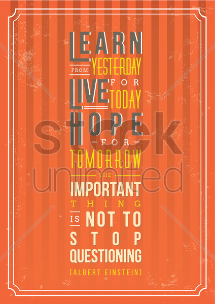 motivation quote vector graphic