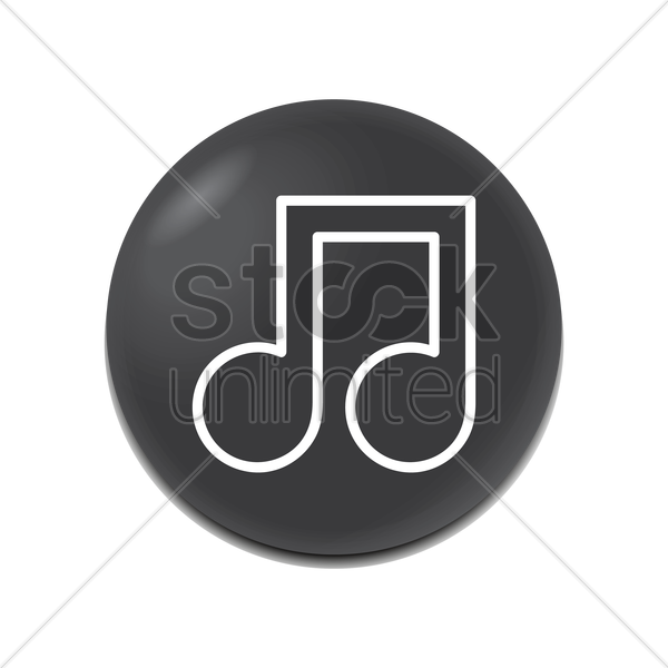 music icon vector graphic