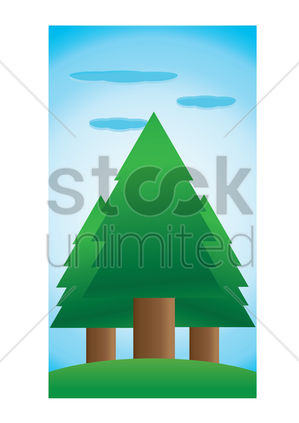nature background vector graphic