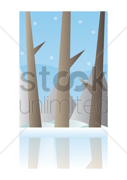 nature wallpaper for mobile phone vector graphic