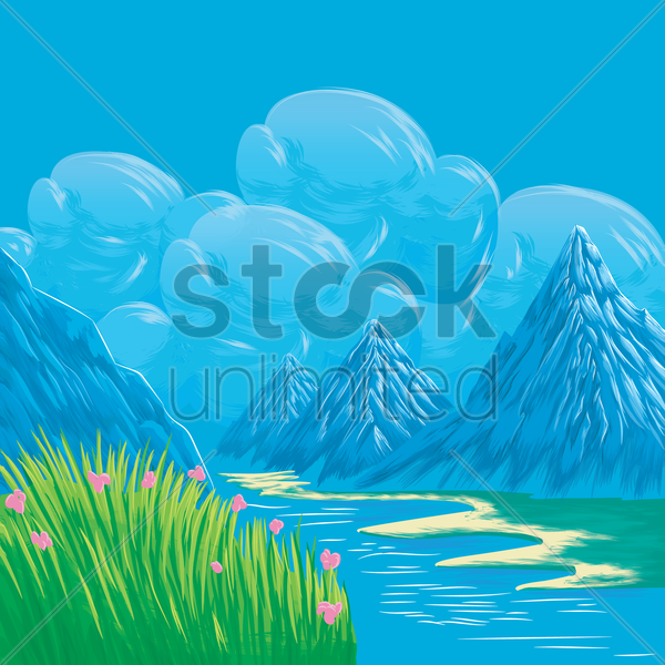 nature vector graphic