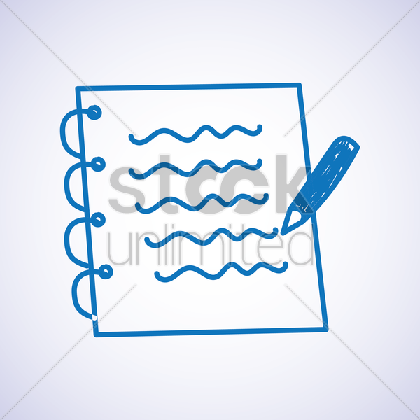 note icon vector graphic