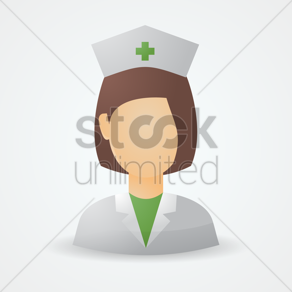 nurse vector graphic