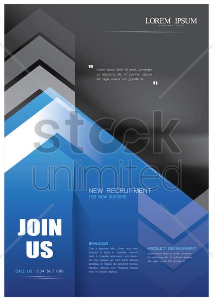 office poster vector graphic