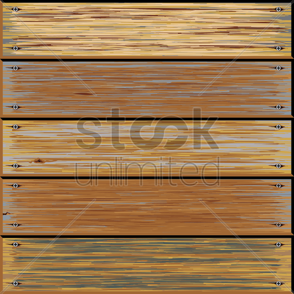 old wooden texture background vector graphic