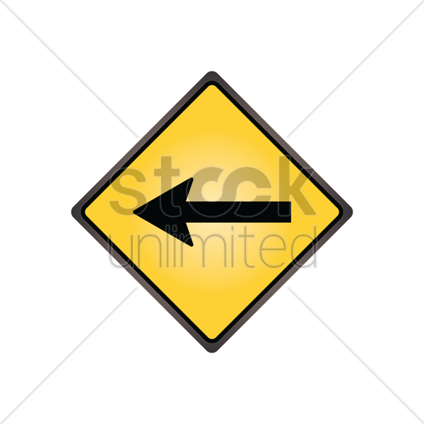 one direction sign vector graphic