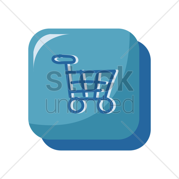 online shopping icon vector graphic