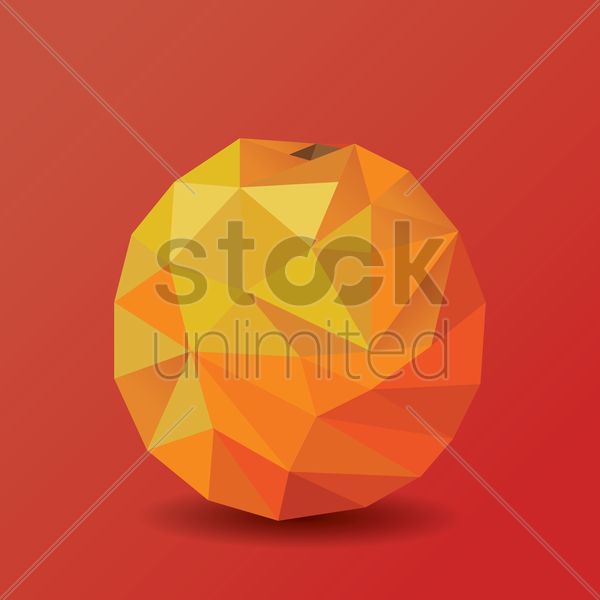 orange vector graphic