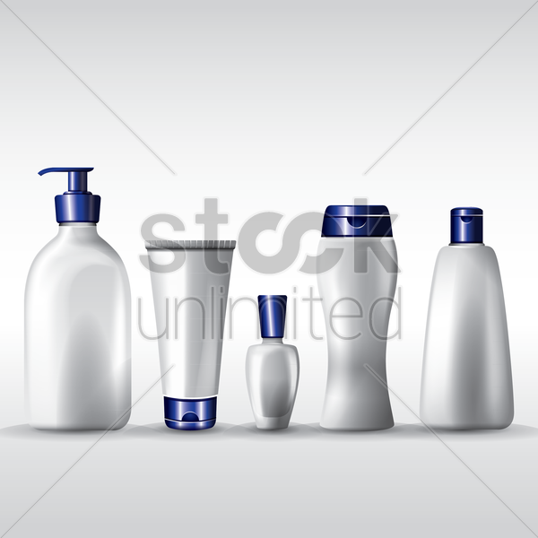 packaging collection vector graphic