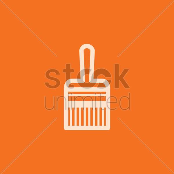 paint brush vector graphic
