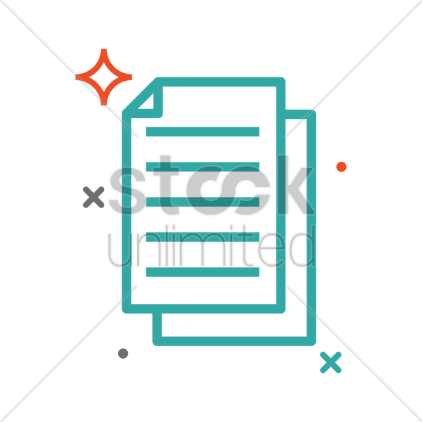 paper vector graphic