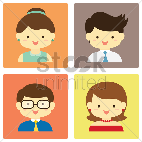 parents vector graphic