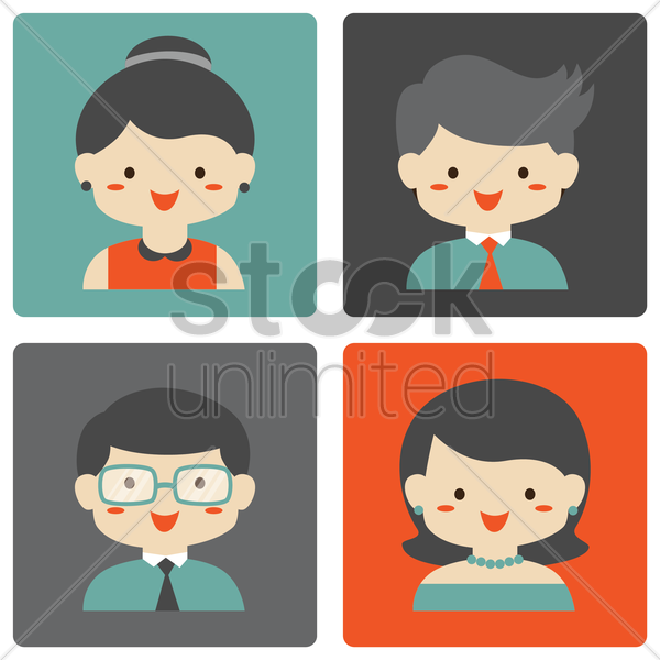 Free parents vector graphic