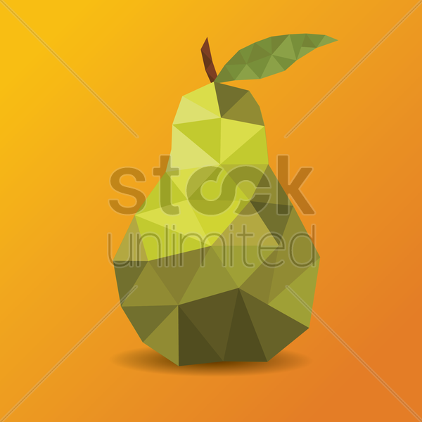 pear vector graphic