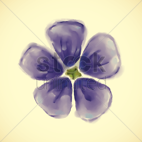 periwinkle vector graphic