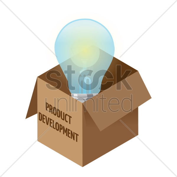 Free product development vector graphic