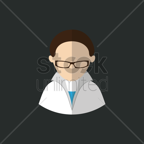 professor vector graphic