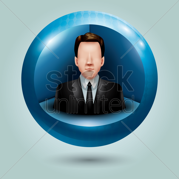 profile icon vector graphic