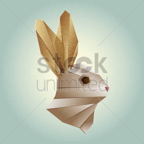 rabbit vector graphic