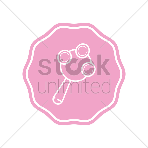 rattle vector graphic