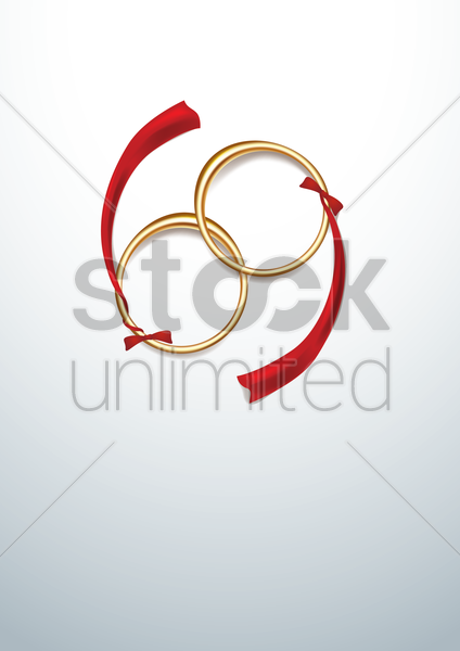 rings poster vector graphic