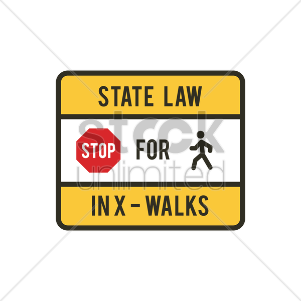 road sign vector graphic