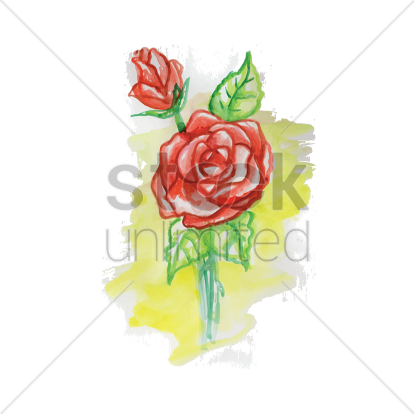 roses vector graphic