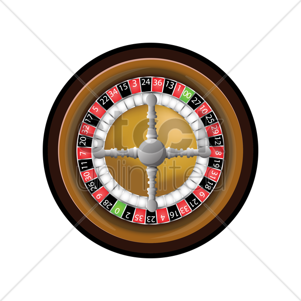 roulette vector graphic