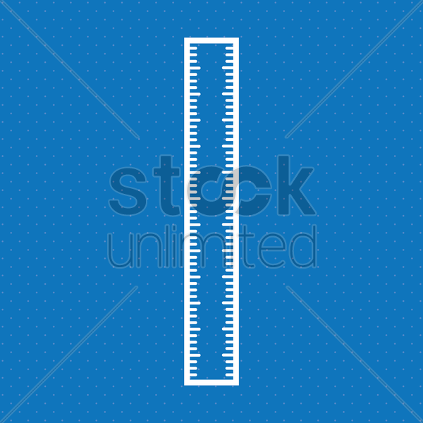 ruler vector graphic