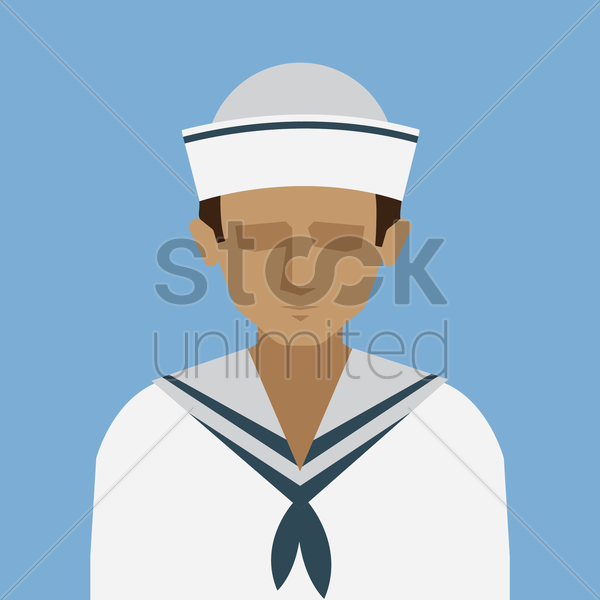 sailor vector graphic