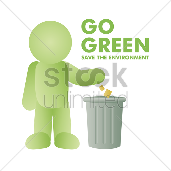 Free save environment vector graphic