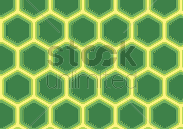 seamless hexagonal cells texture vector graphic