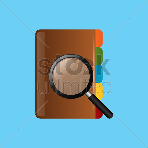 search address icon vector graphic