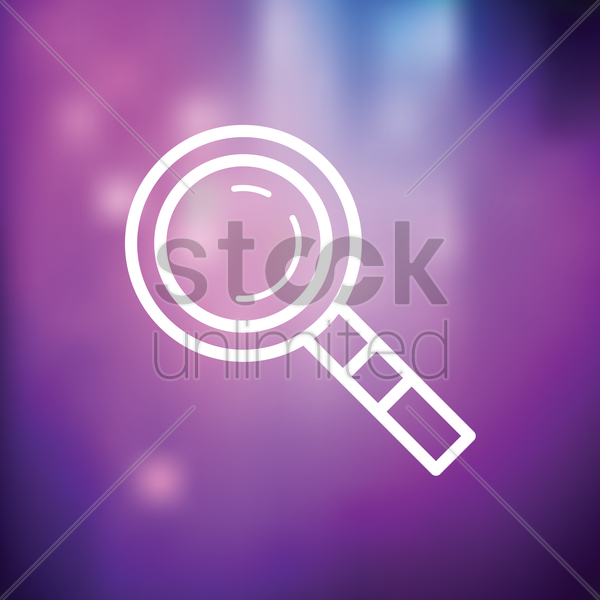 search icon vector graphic
