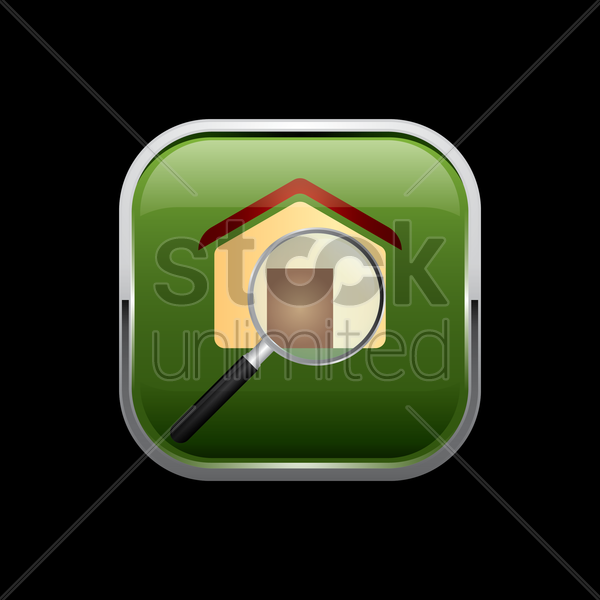 search property icon vector graphic