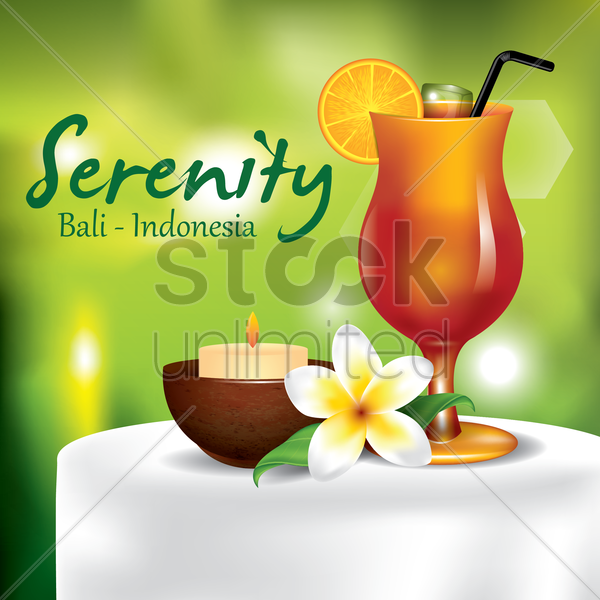 Free serenity vector graphic
