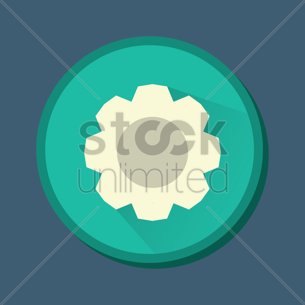 setting icon vector graphic
