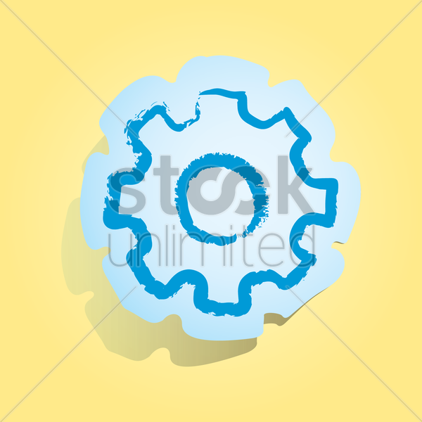 Free settings icon vector graphic