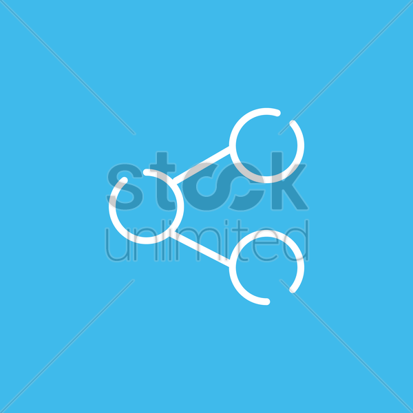 share icon vector graphic
