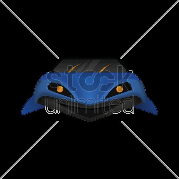 Shark Shaped Car Vector Image 1498091 Stockunlimited