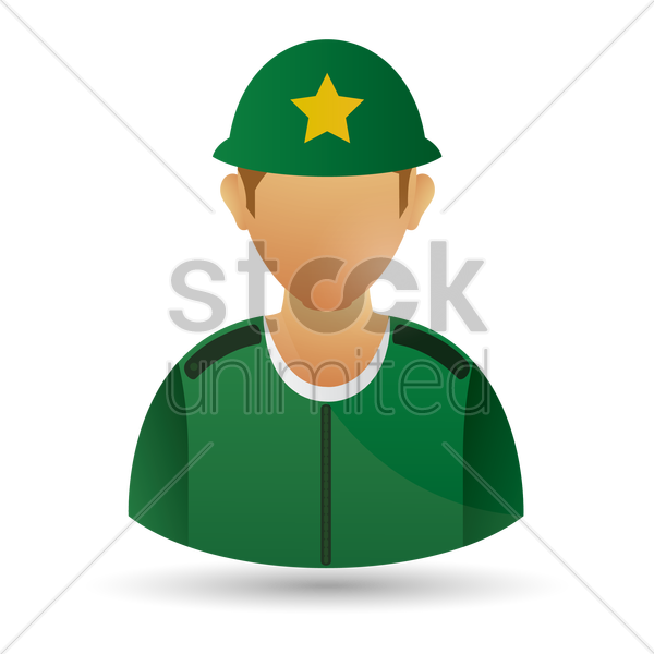 sheriff vector graphic