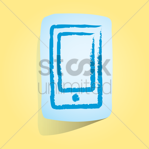Free smartphone icon vector graphic