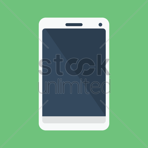 smartphone vector graphic