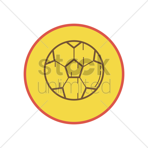soccer ball vector graphic