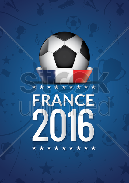 soccer poster vector graphic