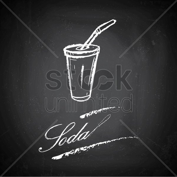 soda vector graphic