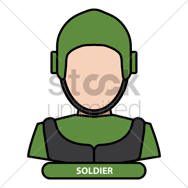 soldier vector graphic