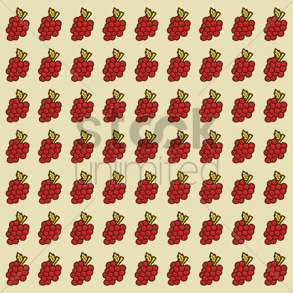 spain grapes pattern background vector graphic