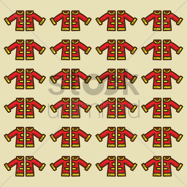 spain matador jacket pattern background vector graphic