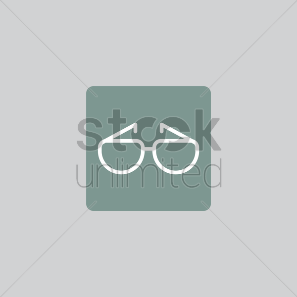 spectacles icon vector graphic